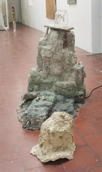 Maud Gyssels, My Mount, 2017, sculpture and video