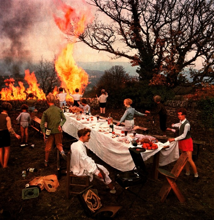 La Banquette - Bernard Faucon