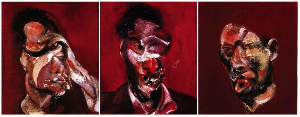 Three Studies for a Portrait of Lucian Freud - Francis Bacon